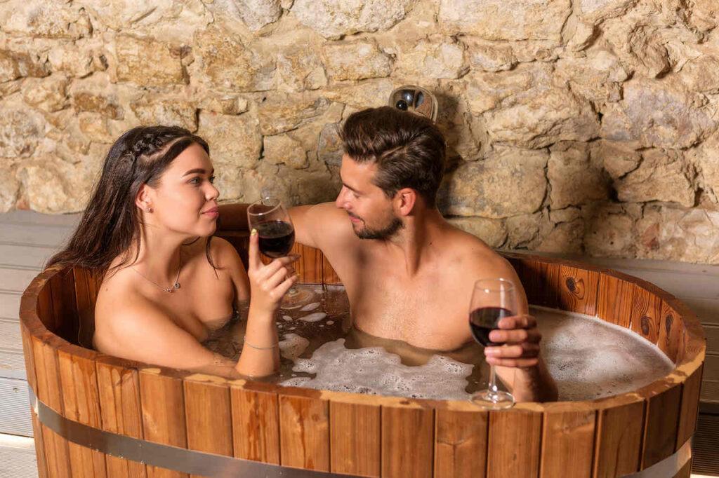 Kąpiel winna w Piwnym Spa