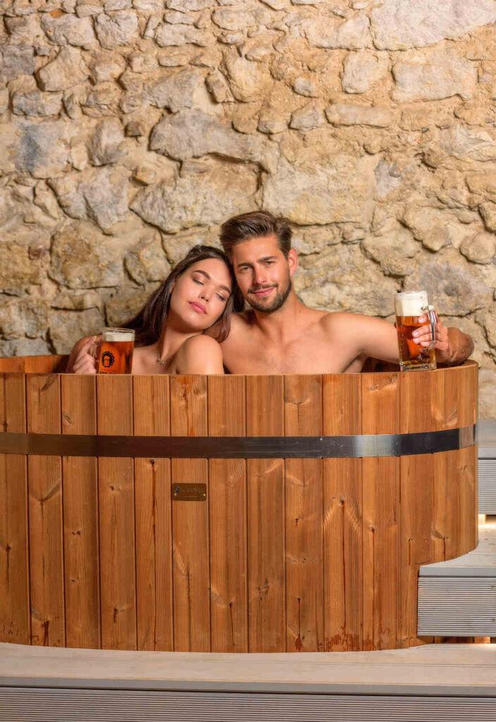 romantyczny relaks zima w piwnym spa w krakowie